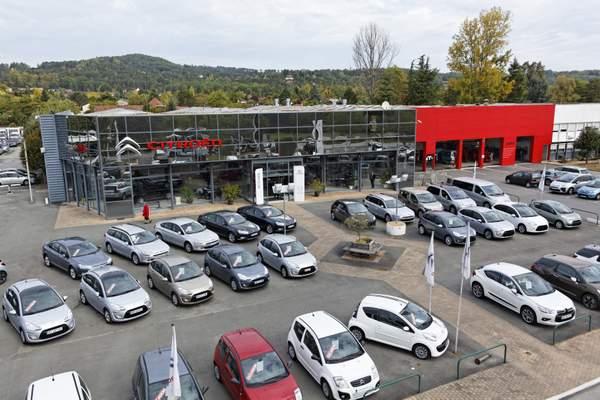 Présentation de H Deluc Citroën à périgueux